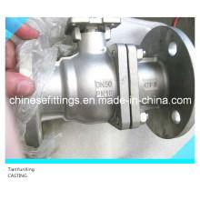DIN Casting Steel Manual Control Ball Valve