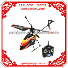 WL 2.4G 4ch outdoor rc helicopter with single blade! V911
