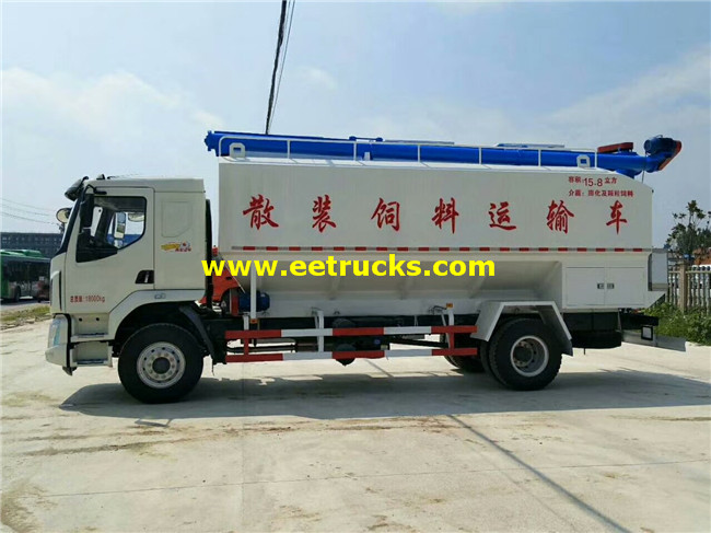15800L Dry Powder Delivery Tankers