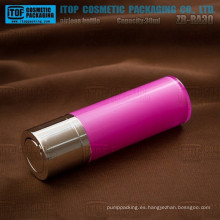 ZB-RA30 30ml clásica y hermosa especiales recomiendan mayor vacío 1oz loción rotatorio bomba cosmética vacío botella de acrílico