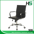 Black PU dining leather chairs/ task chair