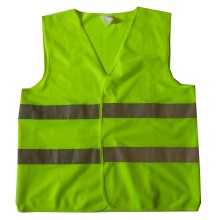 Yj-5006 Green Yellow Reflective Hi Vis En471 Safety Harness Vest Workwear