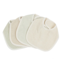 Babero de algodón orgánico para bebés