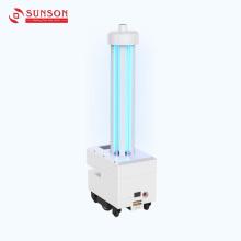 Robot de desinfección con luz ultravioleta
