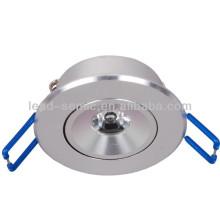 Aluminium-Schale Mini-LED-Schrank Licht Lampe 3w