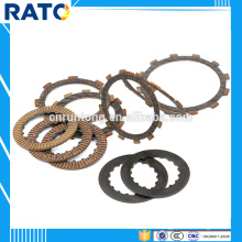 2016 hot sale clutch friction plates for motorcycle