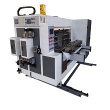 Corrugated  Slotting lead edge feeding creasing  carton box Machine
