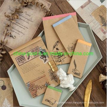 Onion-Skin Paper Notes Scrapbook