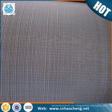 40 60 80 100 120 micras 304 316L máquina de dibujo de alambre de plástico de acero inoxidable holandés tejer malla de filtro de alambre