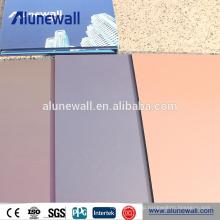 European standard ACP decorative plastic wall covering sheets ACM materials
