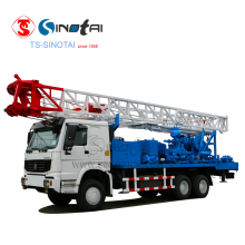 800M Mechanical Top Drive Water Well Drilling Rig