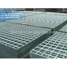 serrated flat bar grating