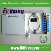 FTTH 8 core fiber optic termination box/ distribution box