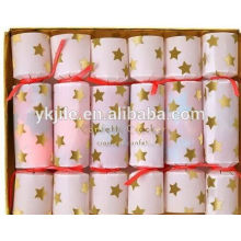 Décoration de fête de mariage Push Pop Paper Circle Confetti