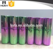 Botella de pulimento de clavo del diseño del color verde púrpura del color del gradiente 10ml 10ml