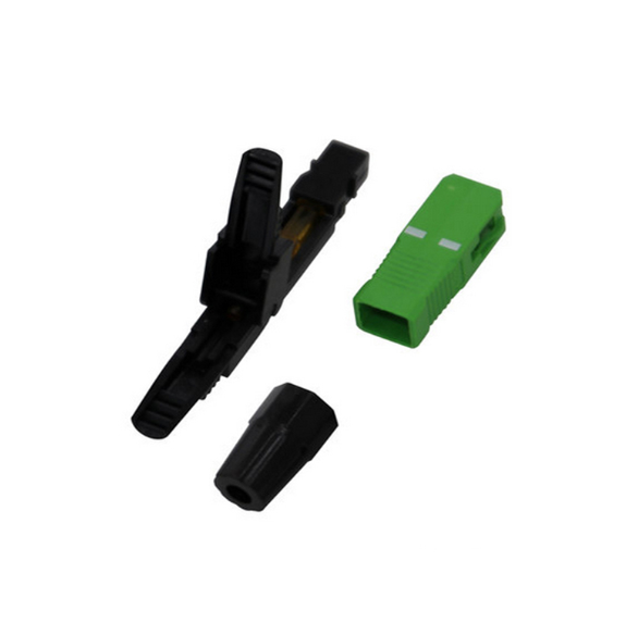 Ftth Sc Apc Upc Fiber Optic Fast Connector