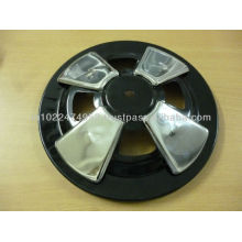 wheel alignments show cups for automobile