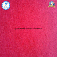 100% Polyester of Red Nonwoven Fabric