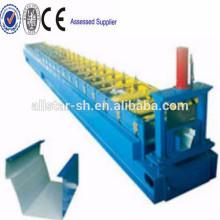 Steel Half Round Gutter Roll Forming Machine,Galvanized color steel gutter roll forming machine