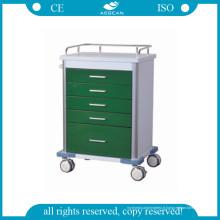 AG-GS001 Chariot médical vert foncé