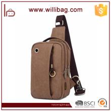 Multifunctional Men Chest Bag Canvas Popular Sling Bag