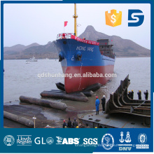 barco flotando y salvamento airbag de goma en China