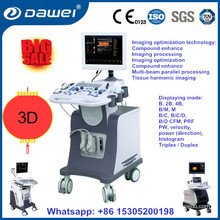 Medical clinic ultrasound equippments & portable trolley color Doppler ultrasound DW-C80