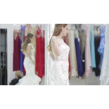 2017 Plissee Ballkleider Sexy Suzhou Hochzeitskleid