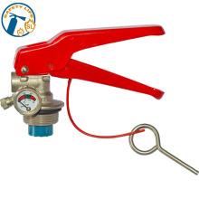 Les pièces portatives de valve d'extincteur d'aluminium d'abc portent le type sec de poudre