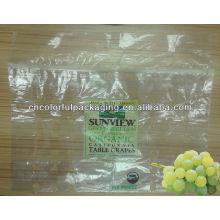 saco de plástico com furos para frutas / frutas e vegetais sacos perfurados / sacos perfurados