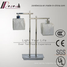 Double Fabric LED Table Lamp for Hotel Project