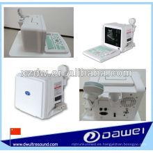 máquina de ultrasonido portátil para portátil y escáner de ultrasonido portátil