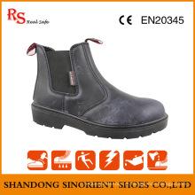 Crazy Horse Leather Sem Botas de trabalho de renda China Snc304