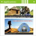 Une nouvelle tendance éclairage énergie solaire CE pour éclairage intérieur de maison / extérieur série JR-C/GY