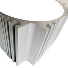 serviço de usinagem de perfil de alumínio cnc personalizado peças de metal