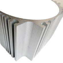 Kundenspezifische CNC-Aluminiumprofilbearbeitungsservice-Metallteile