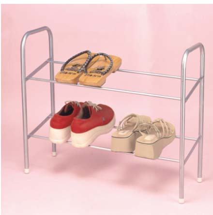 2 Tier Shoe Rack Painting