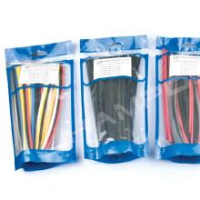 Sac à fermeture à glissière simple en plastique de couleur de tuyau de paroi d'utilisation industrielle
