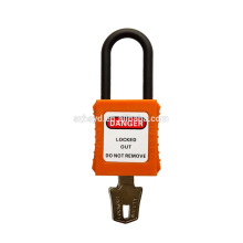 CE certificación de impacto resistente y alta corrosión aislamiento ABS candado