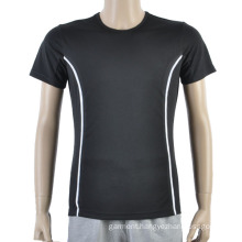 Black Mesh Football Men T Shirt Maker Soccer Jersey