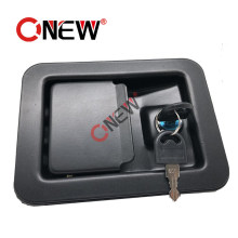 Generator Cabinet Paddle Canopy Door Lock for Auto Parts with Black Powder Coated