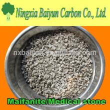 Medio filtrante médico de Stone / Maifanite para el tratamiento de aguas