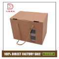 Different types fashion corrugated paper vegetable and fruit box for transport