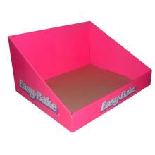 Corrugated Cardboard Pop Counter Top Display Box