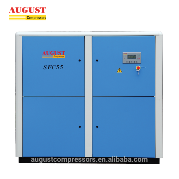 AGOSTO 55kw 75hp compressor de ar do parafuso