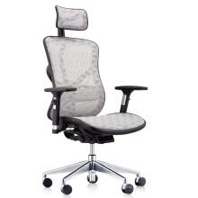 BIFMA Ergonomic Office Mesh Height Adjustable Back And Seat Sliding Office Chair Sillas De Oficina