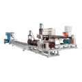 PP PE Plastic Double Stage Granulator