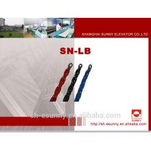 Completo-plástico flexible ignífugo equilibrio compensando proveedores de cadena, bloque de cadena, cadena, cadena suministros/SN-LB