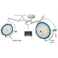 Surgery LED lamp with camera system