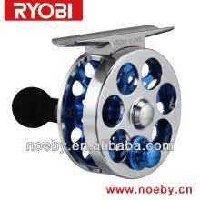 Mini cool & Mini pie metal alloy large arbor fly fishing reel